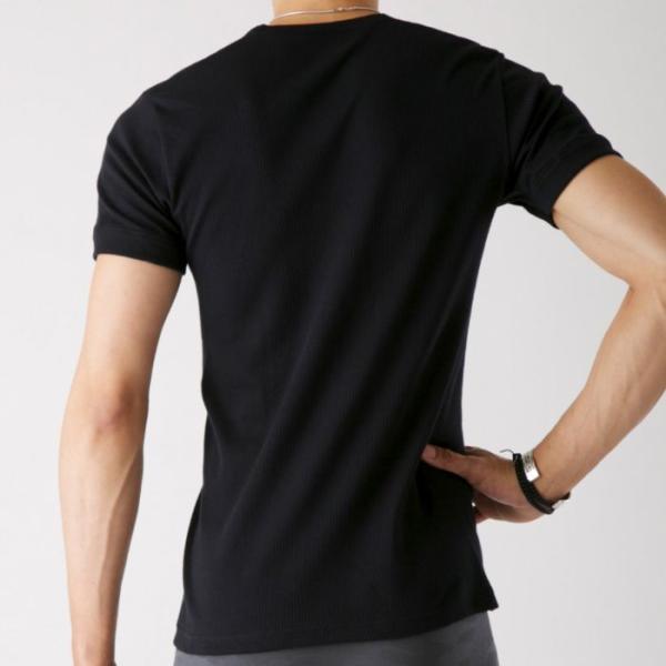 グンゼ Tシャツ V首 ボディワイルド 綿100 GUNZE BODY WILD/【直営店限定】VネックTシャツ(紳士)/BWB315U|gunze|06