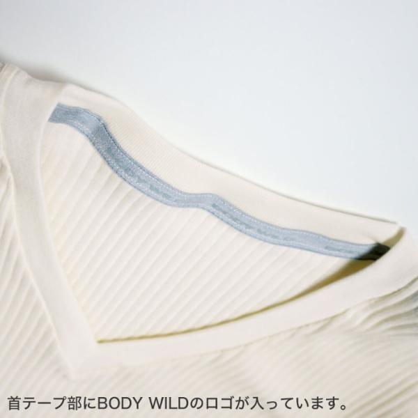 GUNZE(グンゼ)/BODY WILD(ボディワイルド)/【プレミアムライン】VネックTシャツ(V首)(紳士)/BWN015P|gunze|03