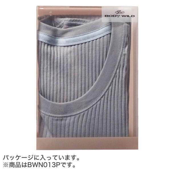 GUNZE(グンゼ)/BODY WILD(ボディワイルド)/【プレミアムライン】VネックTシャツ(V首)(紳士)/BWN015P|gunze|09