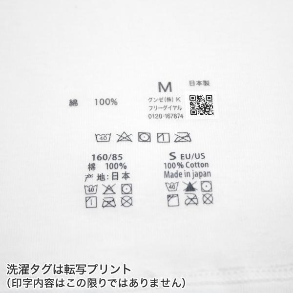 綿100 GUNZE(グンゼ)/the GUNZE(ザグンゼ)/【STANDARD】半袖インナー(婦人)/年間シャツ/CK2050N gunze 04