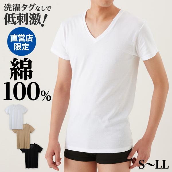 the GUNZE/VネックTシャツ