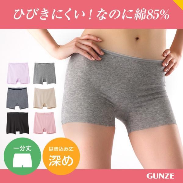 the GUNZE/半袖インナー