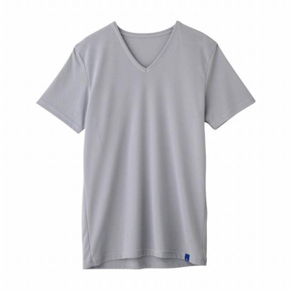 セール 特価 涼感 インナー グンゼ クールマジック 下着 GUNZE COOLMAGIC/VネックTシャツ/MC1915H|gunze|03