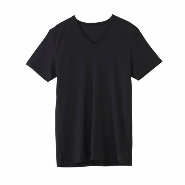 セール 特価 涼感 インナー グンゼ クールマジック 下着 GUNZE COOLMAGIC/VネックTシャツ/MC1915H|gunze|04