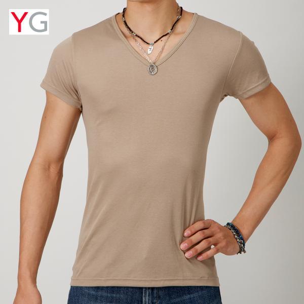 グンゼ YG Tシャツ V首 吸汗速乾 ドライ DRY&DEO GUNZE/VネックTシャツ(紳士)/年間シャツ/YV0115N gunze