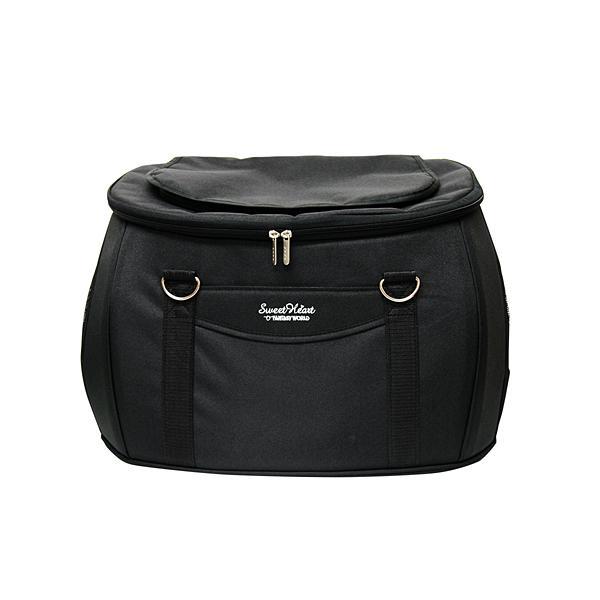 ファンタジーワールド スイートハート リュックタイプ バッグ単品 ブラック SHB-216BK (ペットカート用バッグ)【ネコポス不可】