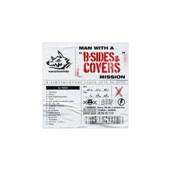 """MAN WITH A MISSION / MAN WITH A """"B-SIDES & COVERS"""" MISSION [CD]"""