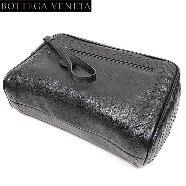 【送料無料】 ボッテガヴェネタ(BOTTEGA VENETA) ポーチ セカンドバッグ 369613 VAKB2 BK  15S