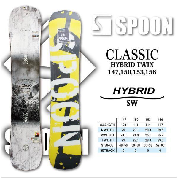 スノーボード ボード 板 SPOON CLASSIC 2021 ニューモデル メンズ ハイブリッド