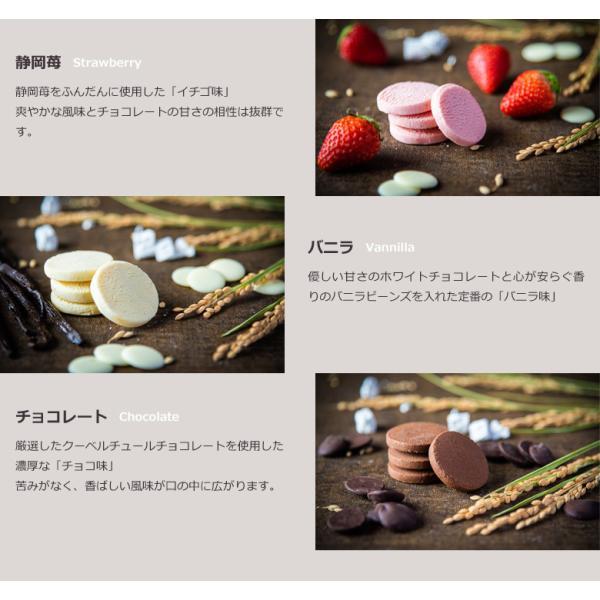 10個で送料無料 母の日ギフト 2019 チョコ とろける生チョコクッキー3個入 まとめ買い メッセージ|gyokkado|05
