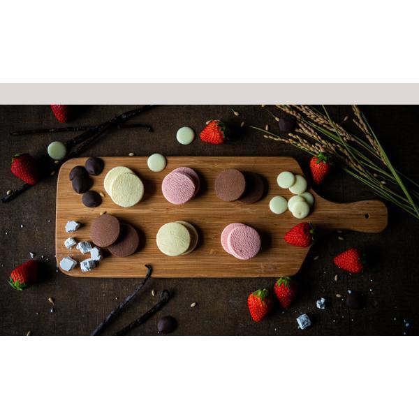 10個で送料無料 母の日ギフト 2019 チョコ とろける生チョコクッキー3個入 まとめ買い メッセージ|gyokkado|09
