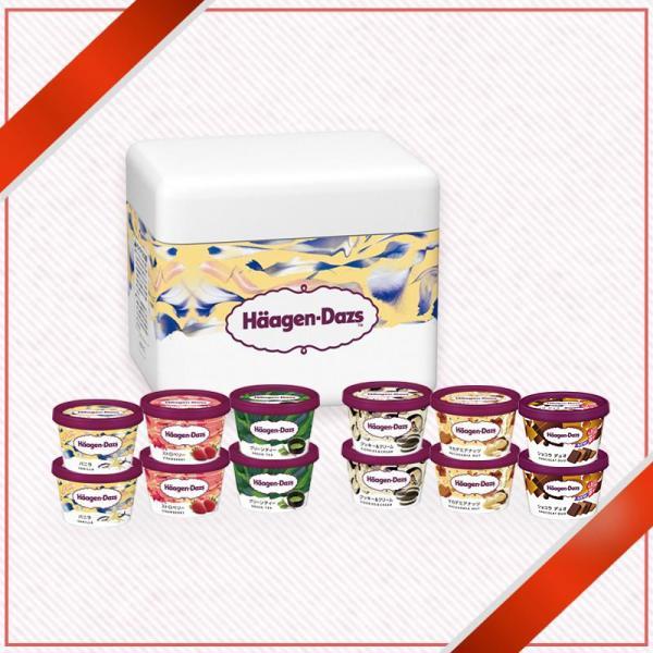 ハーゲンダッツ アイスクリーム 送料無料 ミニカップ ハーフチョイス12個セット|haagen-dazs