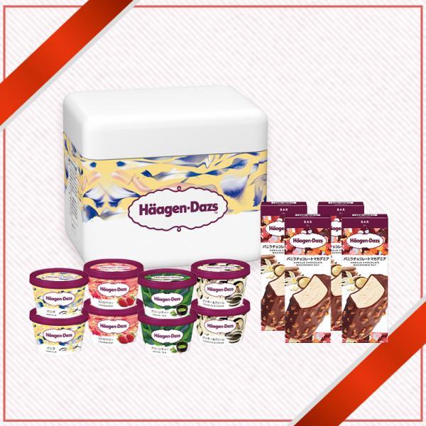 ハーゲンダッツ アイスクリーム 送料無料 ミニカップ8個&バー4個セット|haagen-dazs