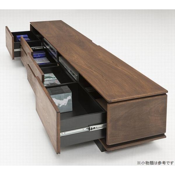 テレビボード ローボード テレビ台 200 240 2サイズよりお選びいただけます おしゃれ 木製 完成品 開梱設置送料無料|habitz-mall|03