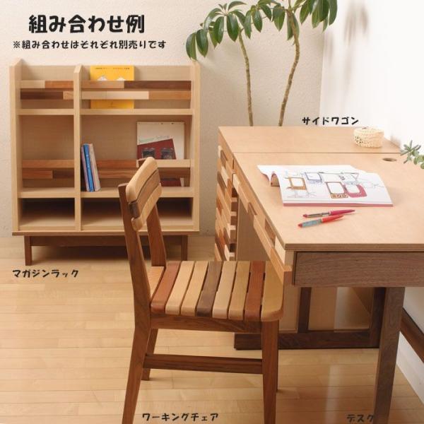 0 学習椅子 木製 プック ワーキングチェア 学習机用イス 日本製 無垢 椅子 ダイニングチェア リビングチェア 送料無料|habitz-mall|03
