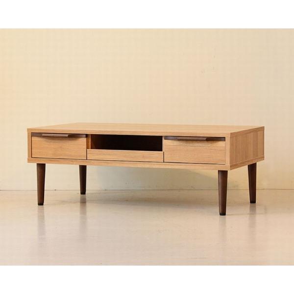 テーブル 104 長方形 おしゃれ 木製 収納 リビングテーブル ローテーブル センターテーブル ソファテーブル|habitz-mall|03