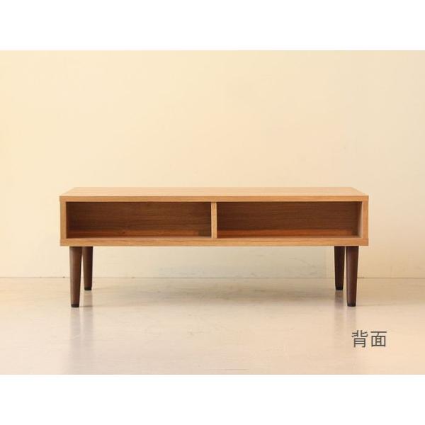 テーブル 104 長方形 おしゃれ 木製 収納 リビングテーブル ローテーブル センターテーブル ソファテーブル|habitz-mall|04