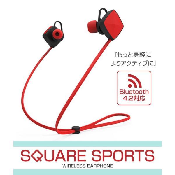 ワイヤレスイヤホン Bluetooth イヤホン ブルートゥース イヤフォン iPhone  おしゃれ 生活防水 防汗 スポーツ アイフォン アンドロイド hac2ichiba 02
