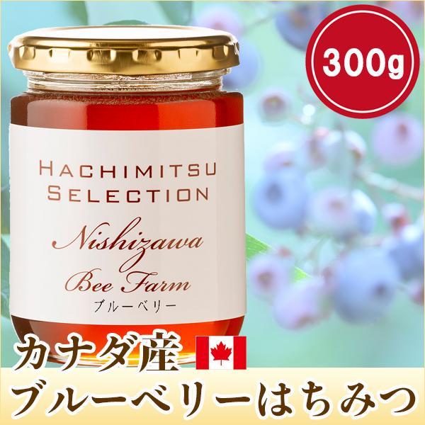はちみつ 蜂蜜 ハチミツ カナダ産ブルーベリーのはちみつ300g