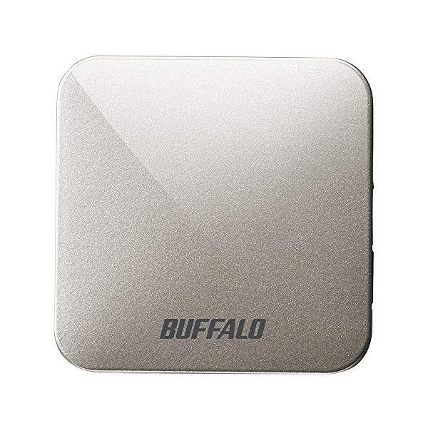 BUFFALO無線LAN親機11ac/n/a/g/b433/150MbpsトラベルルーターアッシュシルバーWMR-433W2-A