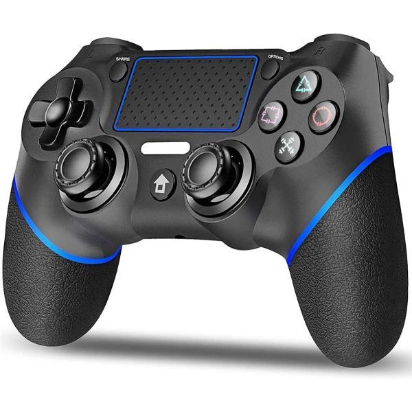 PS4コントローラーPS4ワイヤレスゲームパット無線Bluetooth接続リンク遅延なし600mAh振動機能重力感応PS4sli