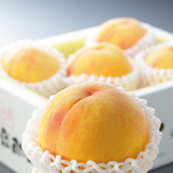 桃 黄金桃 6玉入 約1.5kg 岡山県産 JAおかやま もも モモ