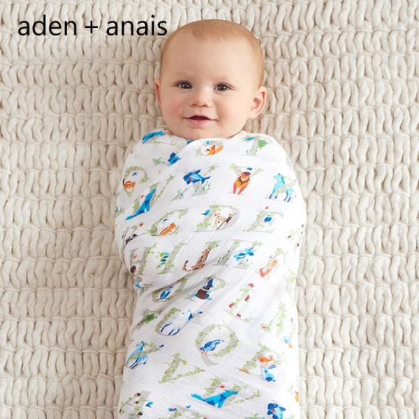 エイデンアンドアネイ  クラシック スワドル  4パックタイプ おくるみ Aden+Anais|haconaka|15