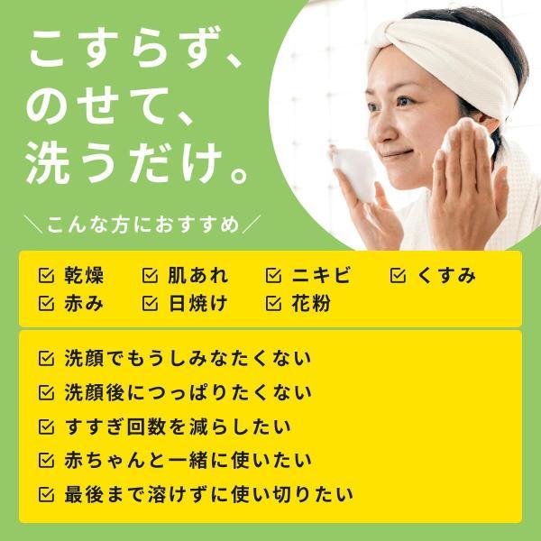 洗顔 固形石鹸 洗顔石鹸 保湿 敏感肌 低刺激 ナチュラルフェイスソープ 80g 肌まる 母の日|hadamaru|12