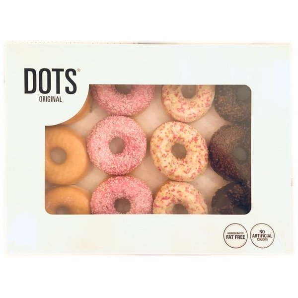 ドーナツ 12個(3個×4種類)ドーナッツ DOTS 3X4FLAVOR / クロワッサン ケーキ パン ベーカリー コストコ カークランド