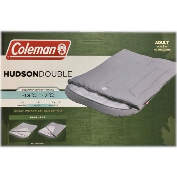 送料無料  コールマン シュラフ 寝袋 シュラフ 二人用 ハドソンダブル スリーピングバッグ  Coleman 2p sleeping bag コストコ カークランド