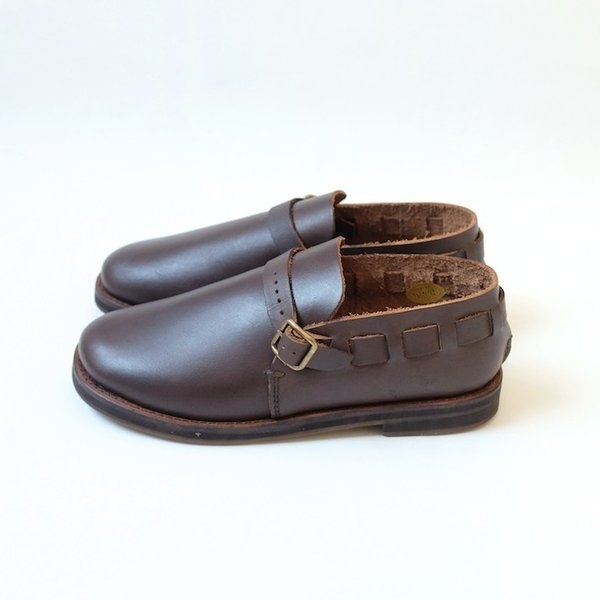 minan polku | belt slip-on (dark brown) | 38サイズ/24cm