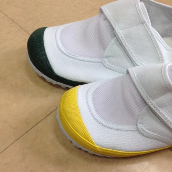 教育パワーシューズ(うわばき) 黄・緑|hafuya