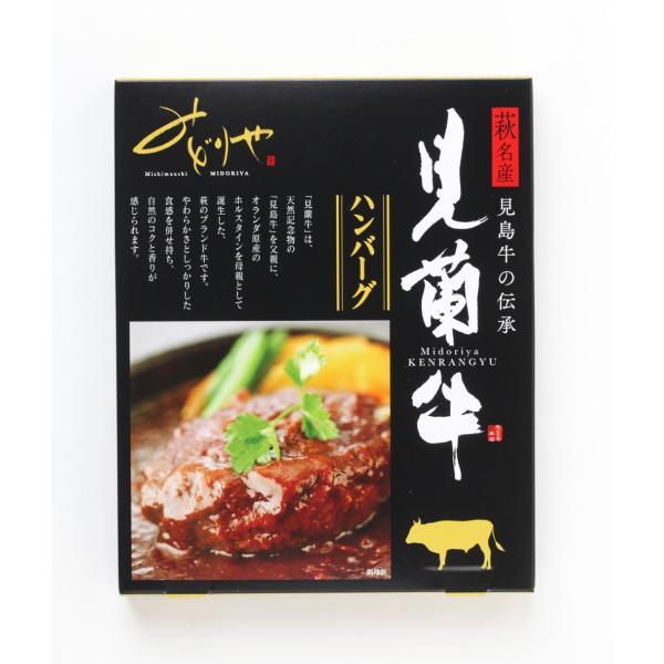 レトルト 萩産「見蘭牛」100% 見蘭牛ハンバーグ2P|hagi-life|02