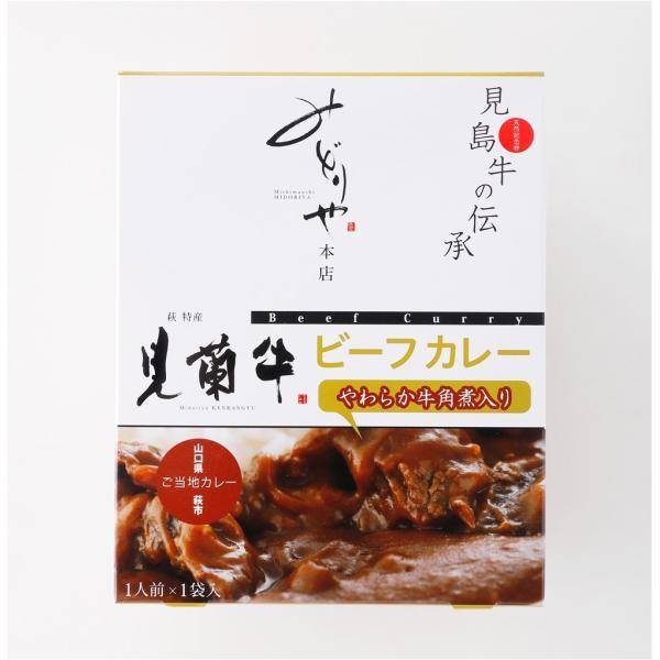 レトルト 萩産「見蘭牛」入り贅沢ビーフカレー 2P|hagi-life|02