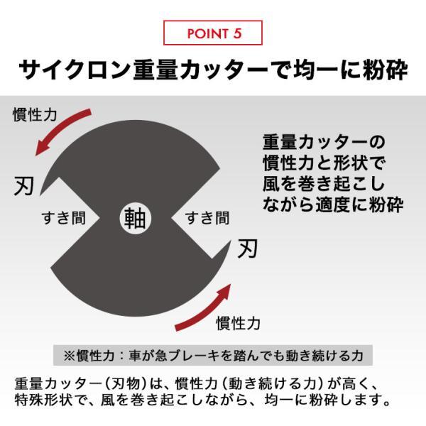 PointUp!(予約:12月上旬) 粉砕機 ウッドチッパー 6.5馬力 HG-65HP-GGS ガーデンシュレッダー エンジン|haige|08