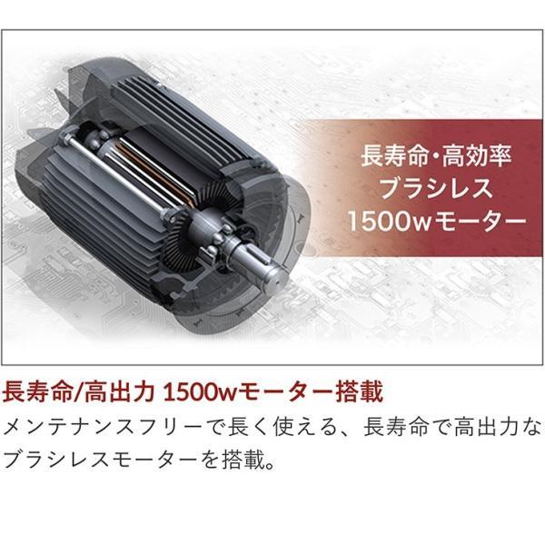 ストレスフリー エアコンプレッサー 小型 業務用 エアブラシ HG-DC991ver01 送料無料 36Lタンク オイルレス ブラシレス 100V 静音|haige|05