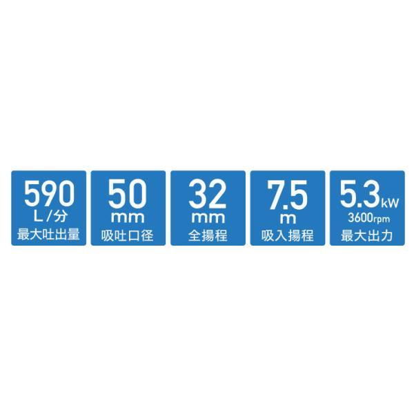 エンジン水ポンプ HG-DP50(1年保証)|haige|03