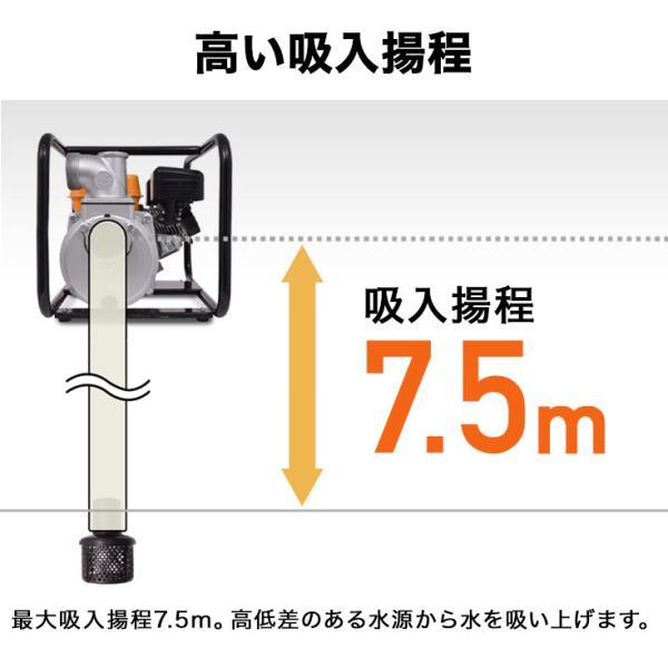 エンジン水ポンプ HG-DP50(1年保証)|haige|05