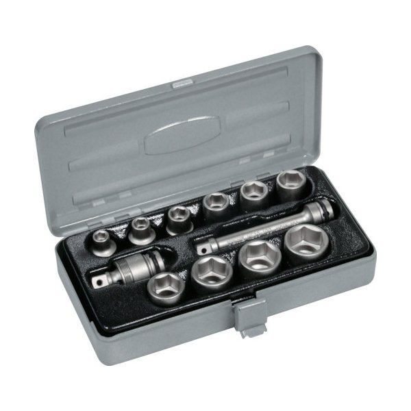 TONE:TONE インパクト用ソケットセット(メタルトレー付) 12pcs NV3102 型式:NV3102