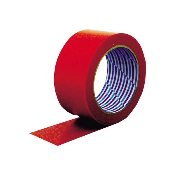 ダイヤテックス:パイオラン 梱包用テープ 50mm×25m レッド K-10-RE 50MMX25M 型式:K-10-RE 50MMX25M