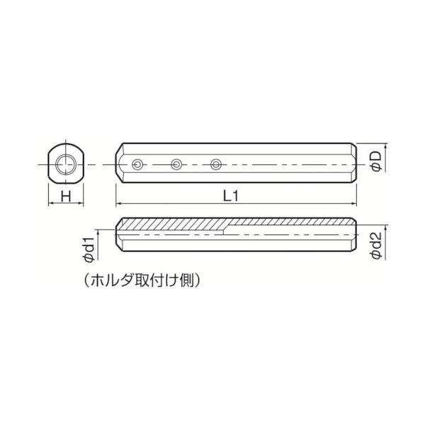 京セラ:京セラ 内径加工用ホルダ SH1632-180 型式:SH1632-180