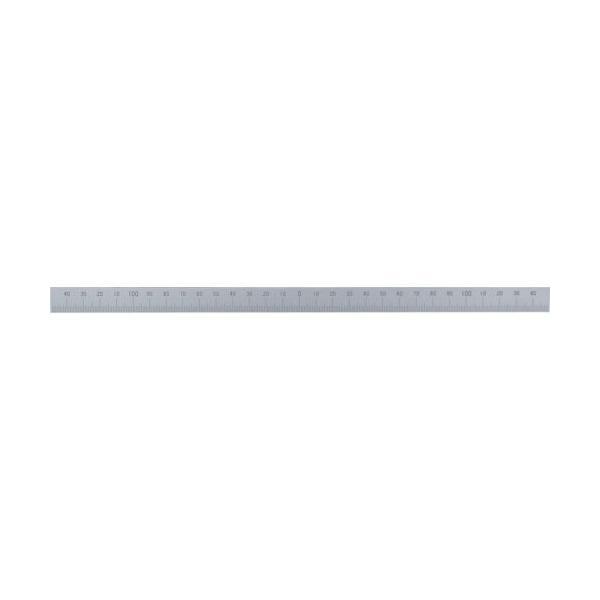 シンワ マシンスケール300mm下段左右振分目盛穴無 ( 14162 ) シンワ測定(株)