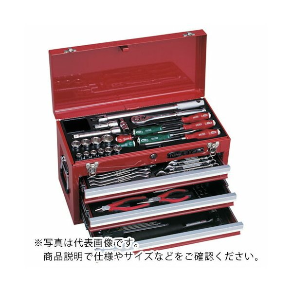 TONE ツールセット 差込角12.7mm 58点セット ( TSA450SV ) TONE(株)