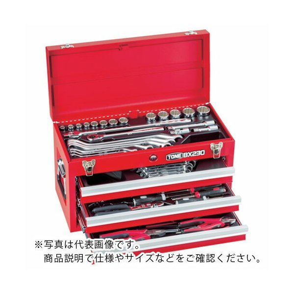 TONE ツールセット 差込角12.7mm 62点セット ( TSS450SV ) TONE(株)