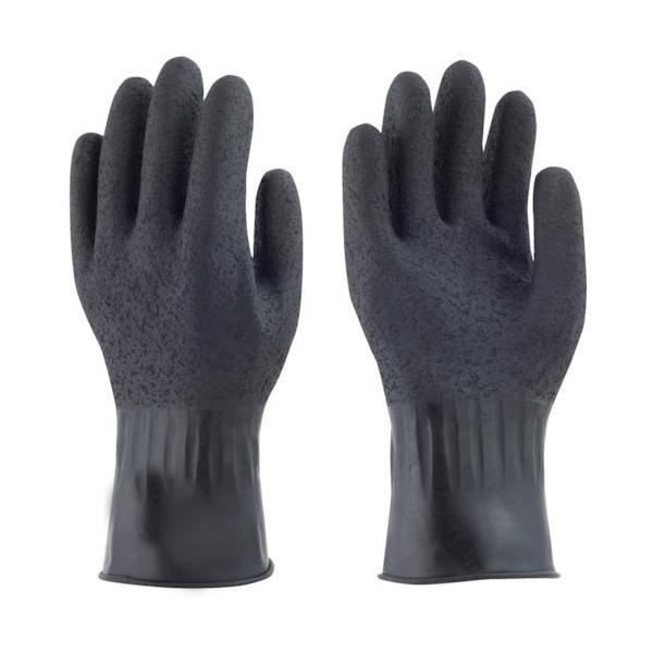 トワロン 天然ゴム手袋 黒潮 L ( 211-L ) (株)東和コーポレーション