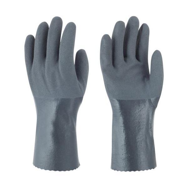トワロン ニトリルゴム手袋 耐油ニトリルパワーロング LL ( 502-LL ) (株)東和コーポレーション