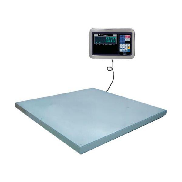 ヤマト 超薄形デジタル台はかり PL-MLC9 600kg 1000x1000 ( PL-MLC9 0.6-1010 ) 大和製衡(株)