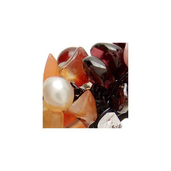 ヘアクリップ/簡単ヘアアレンジ/ピンチクリップ/天然石/小百合/ヘアアクセサリー ゆうパケット対応|hair|03