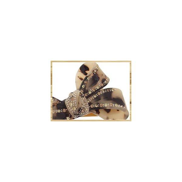Marble Marble クリップ クロティルド ヘアクリップ ヘアアクセサリー べっ甲風 マーブルマーブル アニマル柄