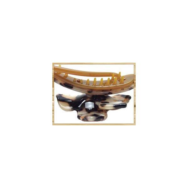 Marble Marble クリップ フィオール ヘアクリップ バナナクリップ ヘアアクセサリー べっ甲風 マーブルマーブル アニマル柄